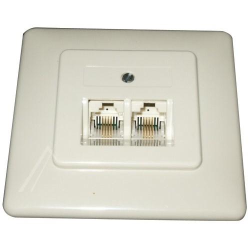 ISDN 2X8(8)UP MODULAR-ANSCHLUSSDOSE
