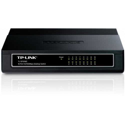 Switch (shperndares) interneti me 16 dalje  TP-LINK