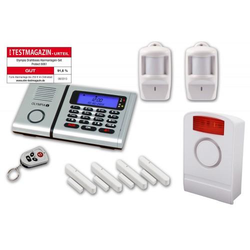 Sistem i alarmit pa kablla (wireless) me 10 thirrje nga telefonia fikse