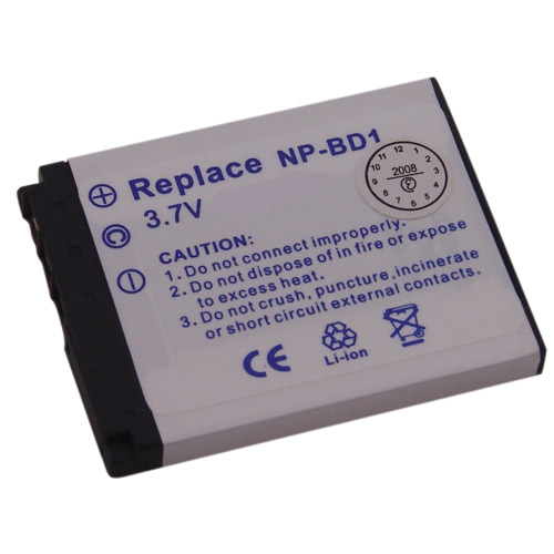Bateri per fotoaparat SONY 3,7V-680mAh Li-ion