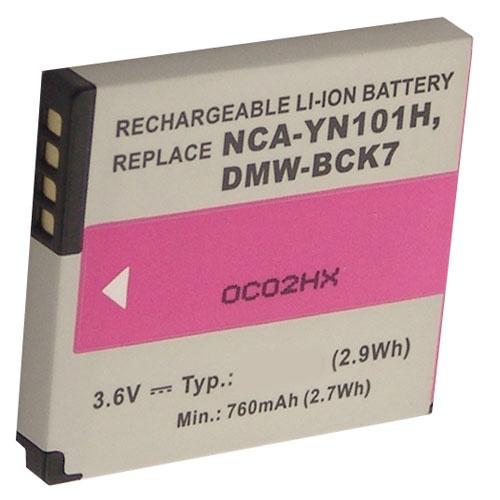 Bateri per fotoaparat Panasonic 3,6V-800mAh Li-ion