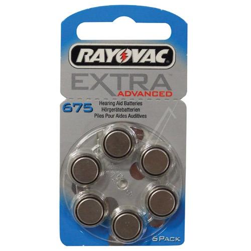 Bateri V675 1,4V-640MAH 6cop EXTRA ADVANCED