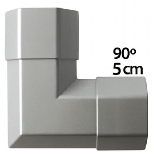 Kthese per kabell kanall 90° - metalik