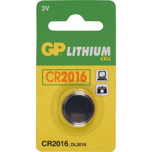 GP bateri origjinale CR2016 / 3,0V per pilot te ndryshem