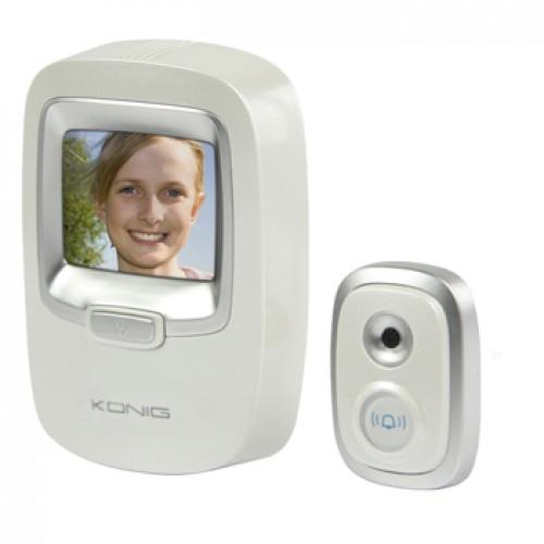 Shpiun dere - Interfon me kamere me ngjyra 2.4''