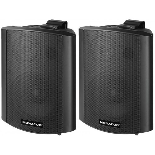 MKA-60SET/SW Active 2-way stereo speaker systems, 2 x 15 W