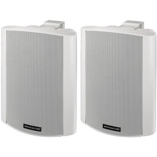 MKA-80SET/WS Active 2-way stereo speaker system, 2 x 20 W
