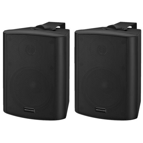 MKA-50SET/SW Active 2-way stereo speaker system, 2 x 20 W