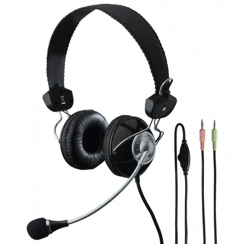 BH-002 Stereo headphones with electret boom microphone