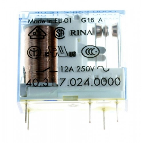 Rele Finder 24V/250V/ 12A