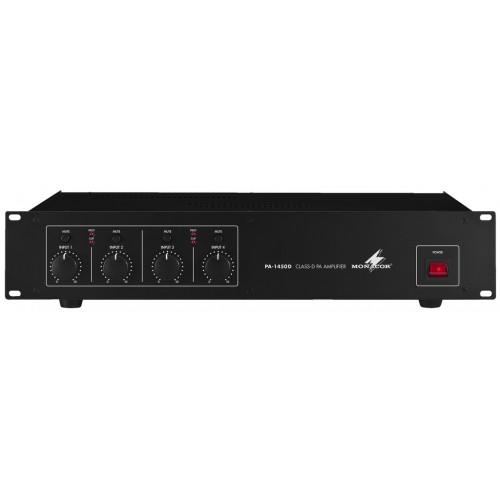 4-channel digital PA amplifier PA-1450D