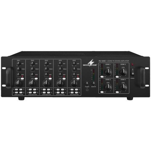 4-channel mono mixing amplifiers PA-12040