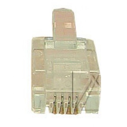 Konektor per kabell telefoni RJ11