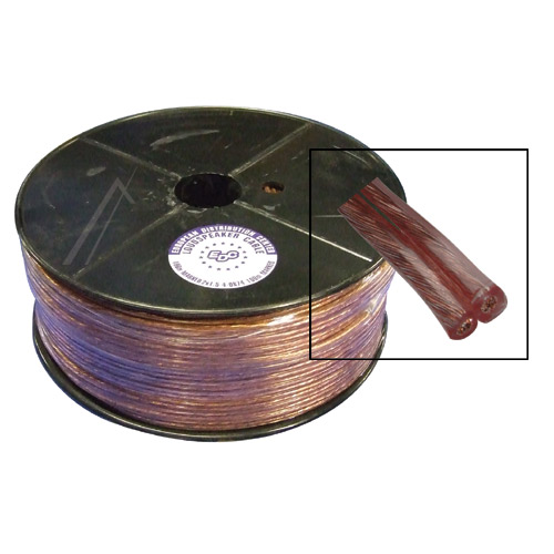 Kabell kualitativ per autoparlanta 100m 2X1,5mm (baker - alumin)