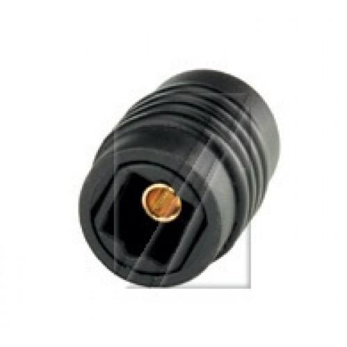 Adapter audio optik toslink (femër-femër) për vazhdim të kabllit.