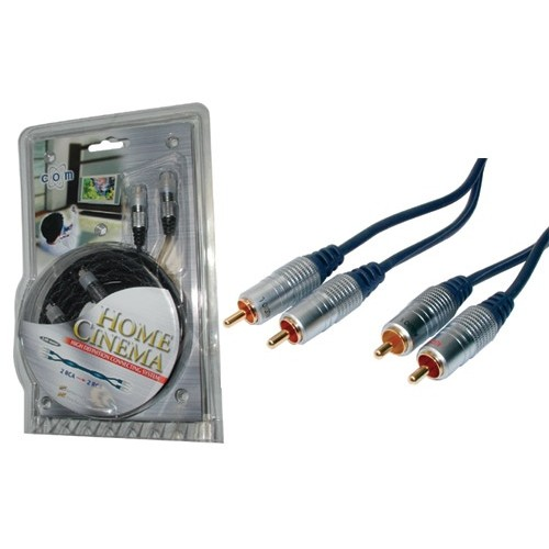 Audio Stereo kabell 5m High Quality