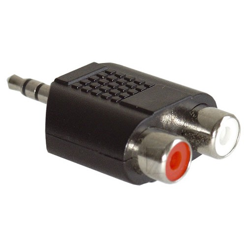 Adapter Audio RCA spin/stereo prize 3,5MM