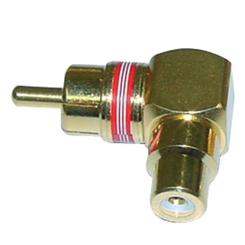 Adapter RCA/CINCH per A/V kthes, GOLD
