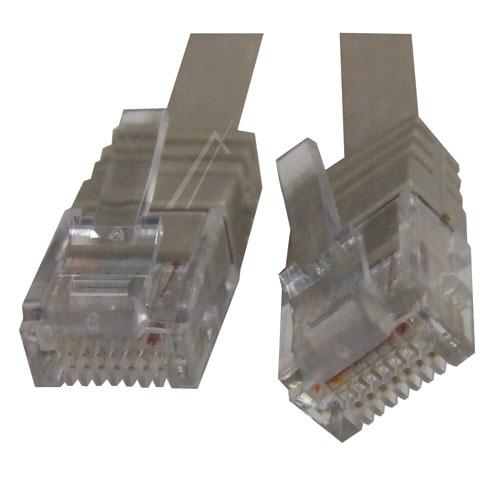 Kabëll interneti SLIM CAT6, RJ45, U/UTP - 2M, e certifikuar