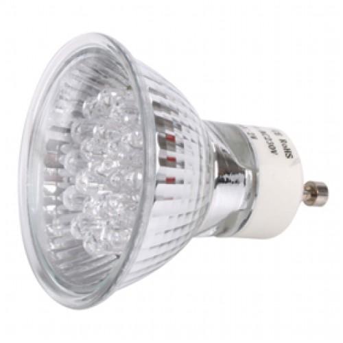 Llampe me LED e kuqe GU10 220V