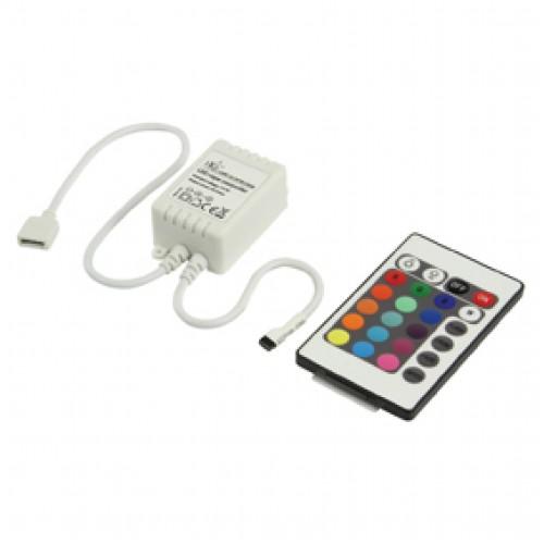 Kontrollus i dritave LED RGB