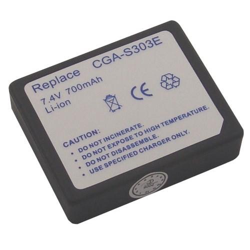 Bateri per kamere Panasonic CGA-S303E
