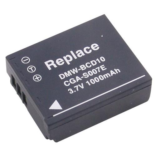 Panasonic bateri kamere CGA-S007/DMW-BCD10 3,7V-1000MAH LI-ION