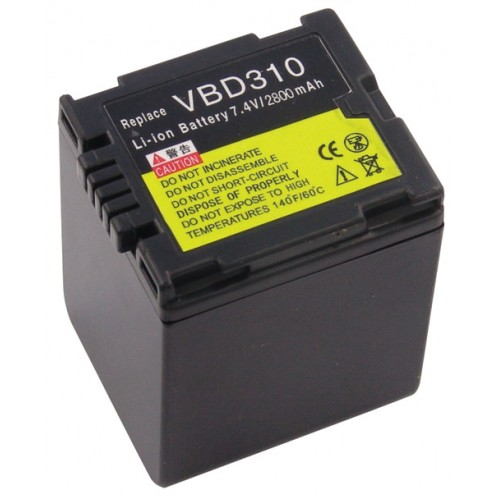 Bateri per Panasonic CGA-DU31/VW-VBD310