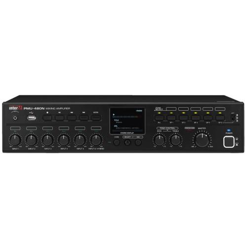 5-zone digital mono PA mixing amplifier PMU-480N