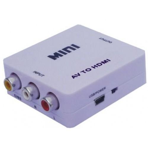 Konvertues sinjali prej A/V ose skart ne HDMI