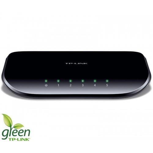 Shperndares interneti Gigabit me 5 porte 10/100/1000MBit/s