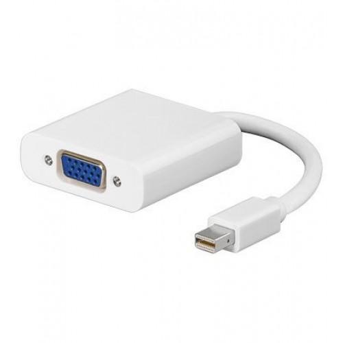 Konvertues Mini Displayport Mac dhe llaptop tjere ne VGA monitor dhe projector